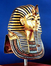 King Tut Golden Funerary Mask Photo