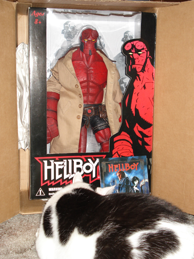 18 inch Hellboy action figure.