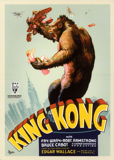 1933 King Kong Poster Image