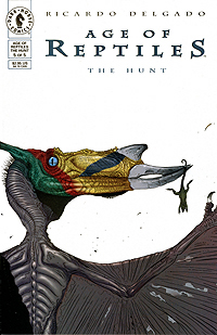 Ricardo Delgado Age of Reptiles The Hunt 05 Cover Image