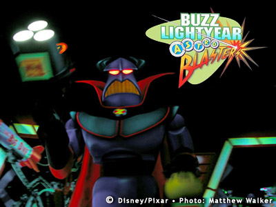 Buzz Lightyear Astro Blasters Emperor Zurg Photo