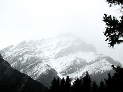 Banff Cascade Mountain Photo