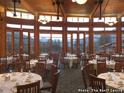 Banff Centre Dining Room Interior Photo