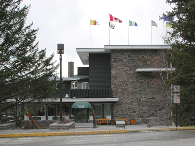 Banff Centre Dining Room Exterior Photo