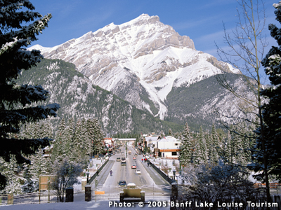 Banff Downtown Photo