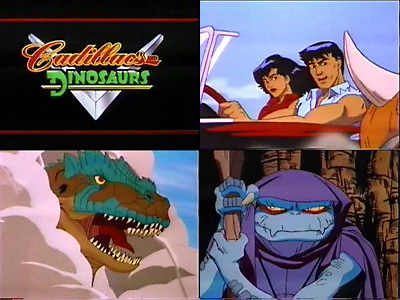 Cadillacs and Dinosaurs Animated Series comp image.