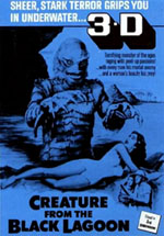 Creature from the Black Lagoon 3D Poster