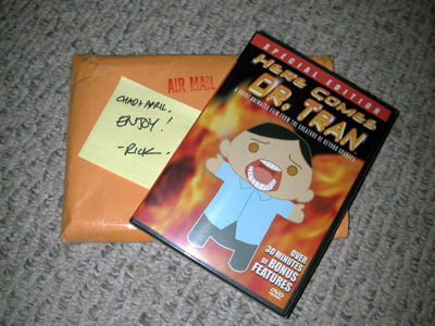 Dr.Tran DVD Photo