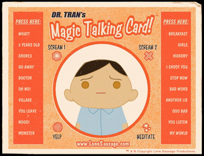 Dr. Tran's Magic Talking Card Image