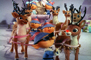 Elves and Reindeer Still Image