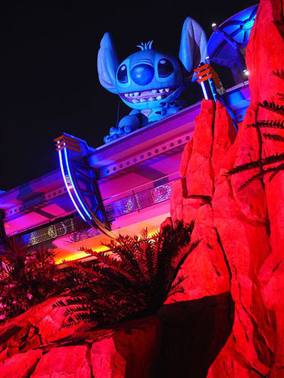 Photo of Stitch at Walt Disney World