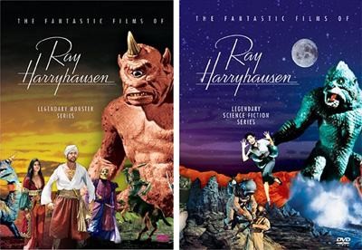 Ray Harryhausen DVD Box Sets Photo