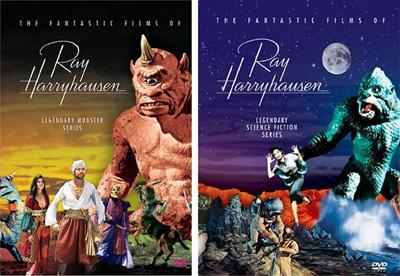 Ray Harryhausen DVD Box Sets Photo