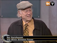 Ray Harryhausen G4TechTV Screenshot