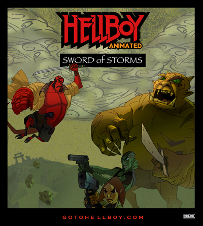 Hellboy Sword of Storms Poster.