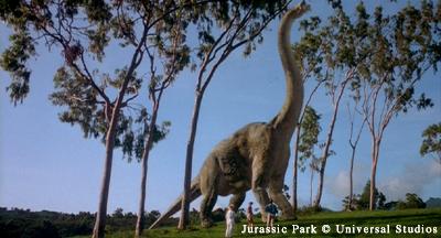 Jurassic Park Screenshot - Brachiosaurus