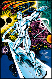 Jack Kirby Silver Surfer Illustration