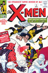 Jack Kirby X-Men Cover Illustration