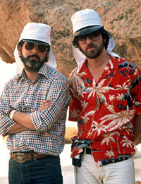 George Lucas and Steven Spielberg Photo