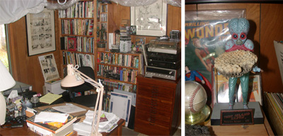 Mark Schultz's Art Studio.