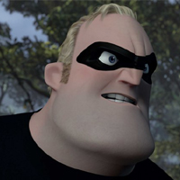 Mr. Incredible Jack O' Lantern Photo