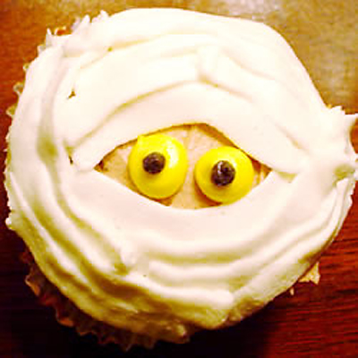 Mummy Cupcakes photo.