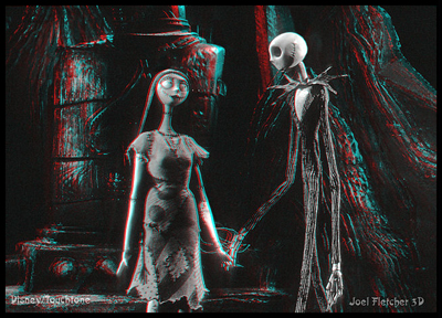 Joel Fletcher 3-D photo from Tim Burton's The Nightmare Before Christmas