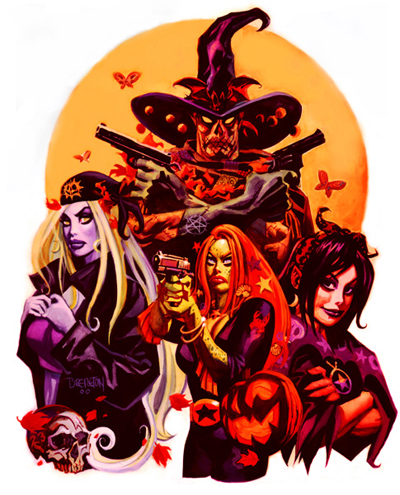 Dan Brereton print of The Nocturnals