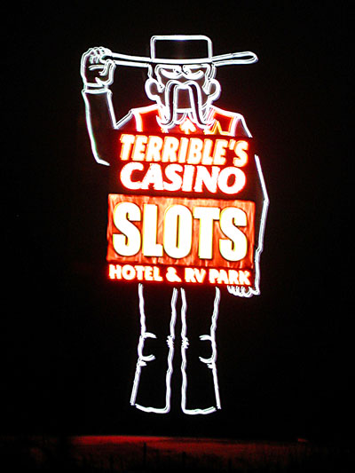 Photo of a casino near Osceola, Iowa by Chad Kerychuk.