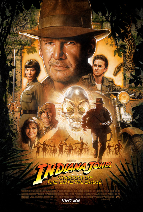 Indiana Jones And The Kingdom Of The Crystal Skull[2008]DvDrip[D