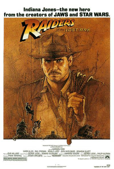 Raiders of the Lost Ark movie poster 01