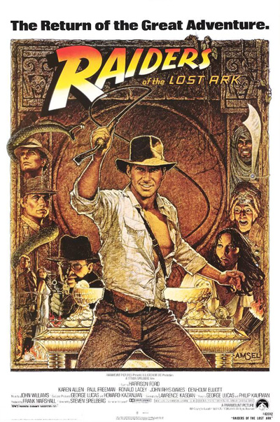 Raiders of the Lost Ark movie poster 02