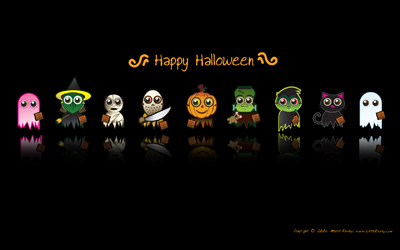 Merrill Rainey Halloween Wallpaper preview.