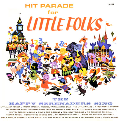 Hit Parade for the Little Folks Record Cover