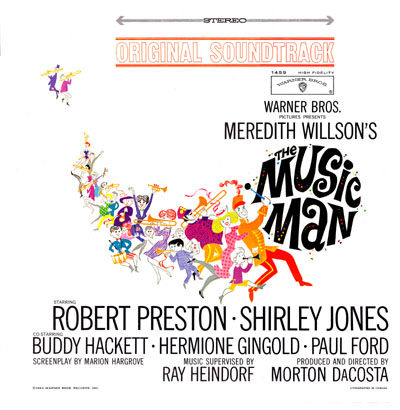 The Music Man Record Cover