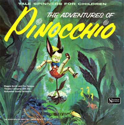 Pinocchio Record Cover Scan