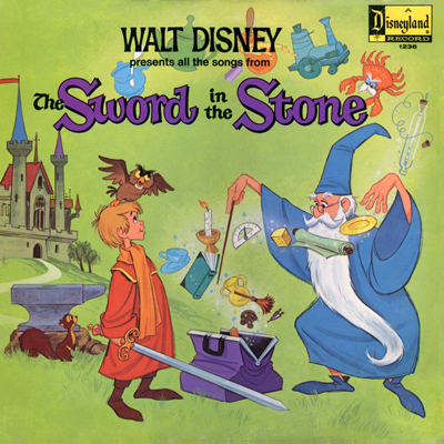 Sword in the Stone Record Cover Scan