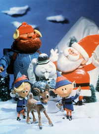 Rankin/Bass Rudolph the Red-Nosed Reindeer Cast Photo