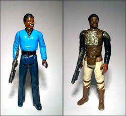 Star Wars Lando Calrissian Action Figure Photos