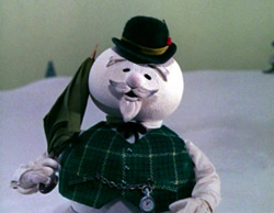 Sam the Snowman Photo