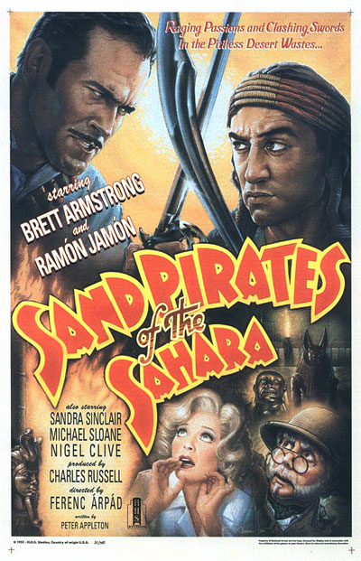 Poster for Sand Pirates of the Sahara