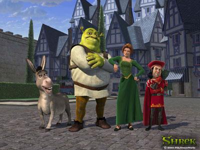 Shrek Characters Image