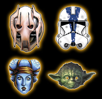 2005 Star Wars Mask Screenshot