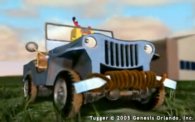 Still Image from Tugger: The Jeep Who Wanted to Fly