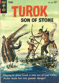 Turok Comic Book Cover