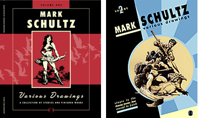 Mark Schultz Various Drawings Covers by Flesk Publications.