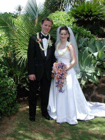 Chad and April Kerychuk Wedding Photo
