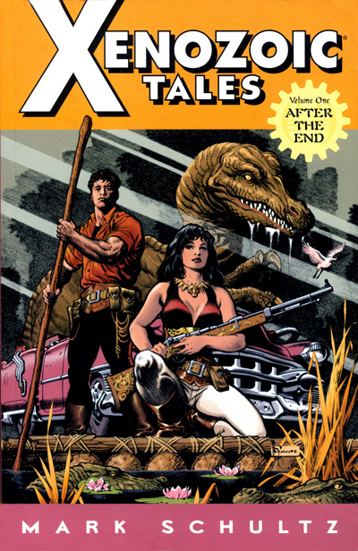 Xenozoic Tales Volume 1 Softcover from Dark Horse Comics.