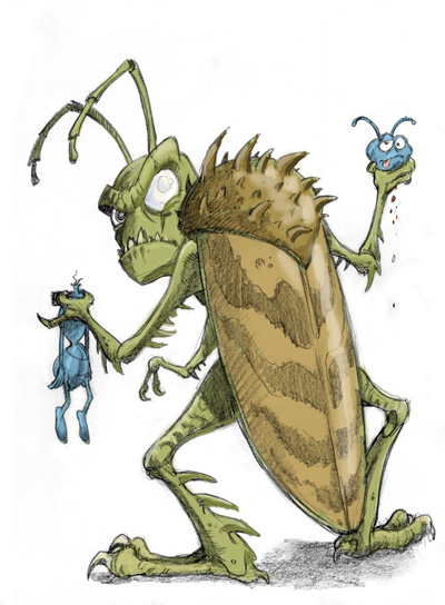 A Bug's Life's Hopper by Renaud.