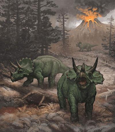 Daren Bader Ceratopsian Painting 02